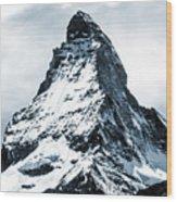 Matterhorn Wood Print