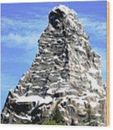 Matterhorn Peak Wood Print