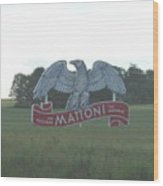 Mattoni Wood Print