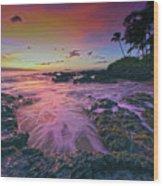 Maui Beauty Wood Print