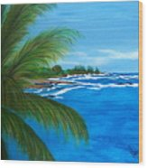Maui Palm Wood Print