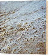 Maui Shore Bubbles Wood Print