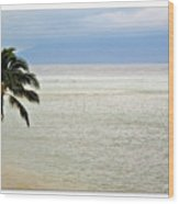 Maui Tropics  Wood Print