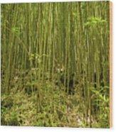 Maui's Thick Bamboo Wood Print