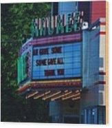 Maumee Movie Theater I Wood Print