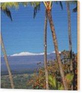 Mauna Kea  Wood Print