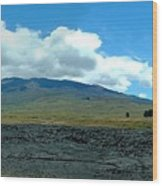 Mauna Loa Panorama Wood Print