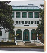 Maurice Bath House - Hot Springs, Arkansas Wood Print