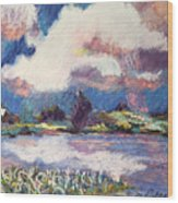 Maurice River Heaven's Delight Wood Print