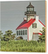 Maurice River, New Jersey, East Pointe  Lighthouse Wood Print