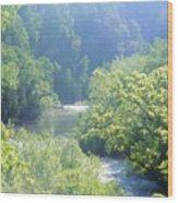 Maury River Wood Print