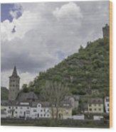 Maus Castle 15 Wood Print