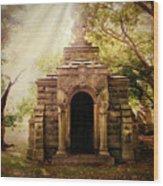 Mausoleum  Wood Print