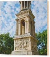 Mausoleum Of The Julii - Glanum Roman Ruins Wood Print