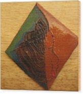 Mavis - Tile Wood Print