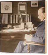 Max Planck, German Physicist Wood Print