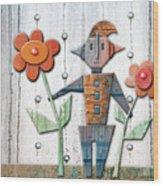 Max The God Of May Wood Print
