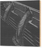 Maximal Minimalist 1935 Cord Wood Print