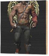 Maximus The Vampire Slayer 01 Wood Print