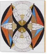 May-bee Wood Print