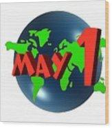 May Day Wood Print