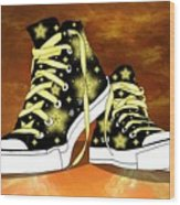 May I Converse With You Wood Print