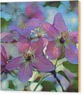 May Pastels Wood Print