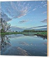 May Reflections Wood Print