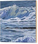 May Wave Wood Print