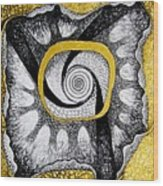 Maya Wood Print