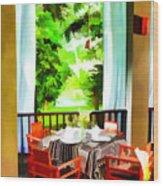 Maya Sari Mas Wood Print