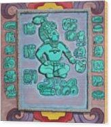 Mayan Prince Wood Print