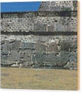 Mayan Pyramid, C450 A.d Wood Print