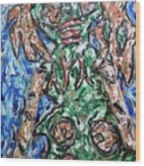 Mayan Snake King Missing Dynasties Wood Print