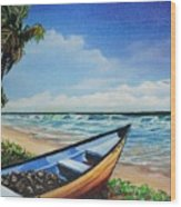 Mayaro Beach Wood Print