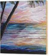 Mayaro Dawn Wood Print