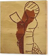 Maybe Baby Two I - Tile Wood Print