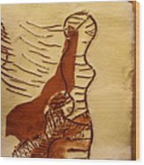 Maybe Baby Two L - Tile Wood Print