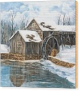 Maybry Mill Wood Print