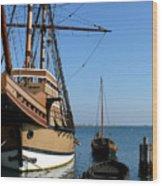 Mayflower II  Wood Print