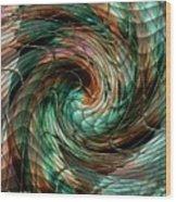 Mayhem Swirl Behind The Safety Net Catus 1 No. 1 V A Wood Print