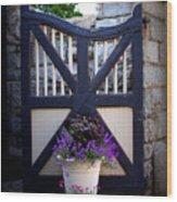 Maymont Gate Wood Print