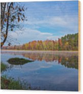 Mayor's Pond, Autumn, #1 Wood Print