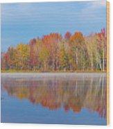Mayor's Pond, Autumn, #2 Wood Print