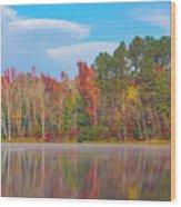 Mayor's Pond, Autumn, #4 Wood Print