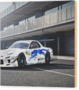 Mazda Rx-7 Wood Print