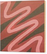 Maze Of Life Wood Print
