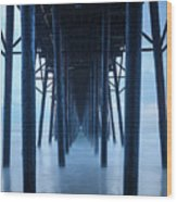 Maze Runner Wood Print
