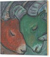 Mazi Aries Wood Print