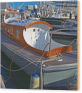 Mb 172 Epic Lass In Darling Harbour Wood Print
